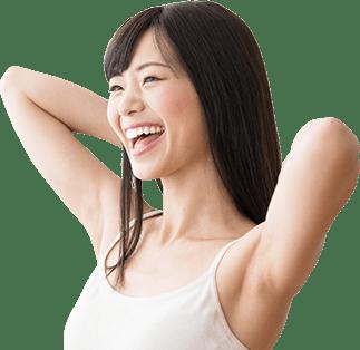 満足する女性